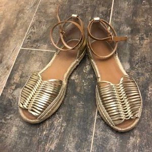 French connection espadrille sandals